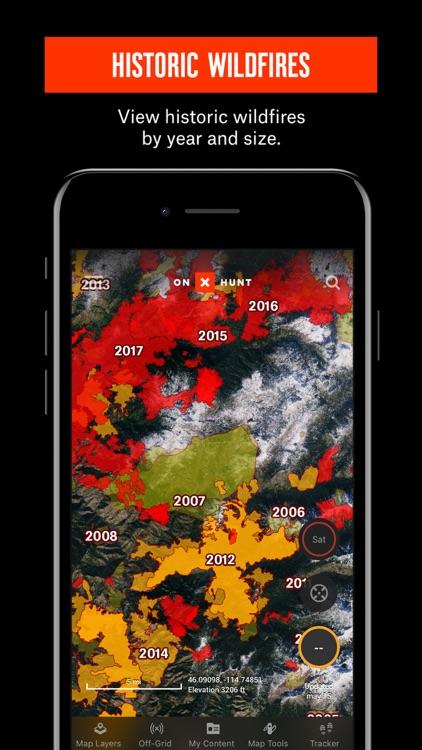 onX Hunt: #1 GPS Hunting Map screenshot-5