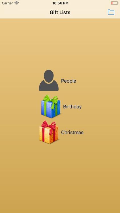 Xmas & Birthday Gift List screenshot-4