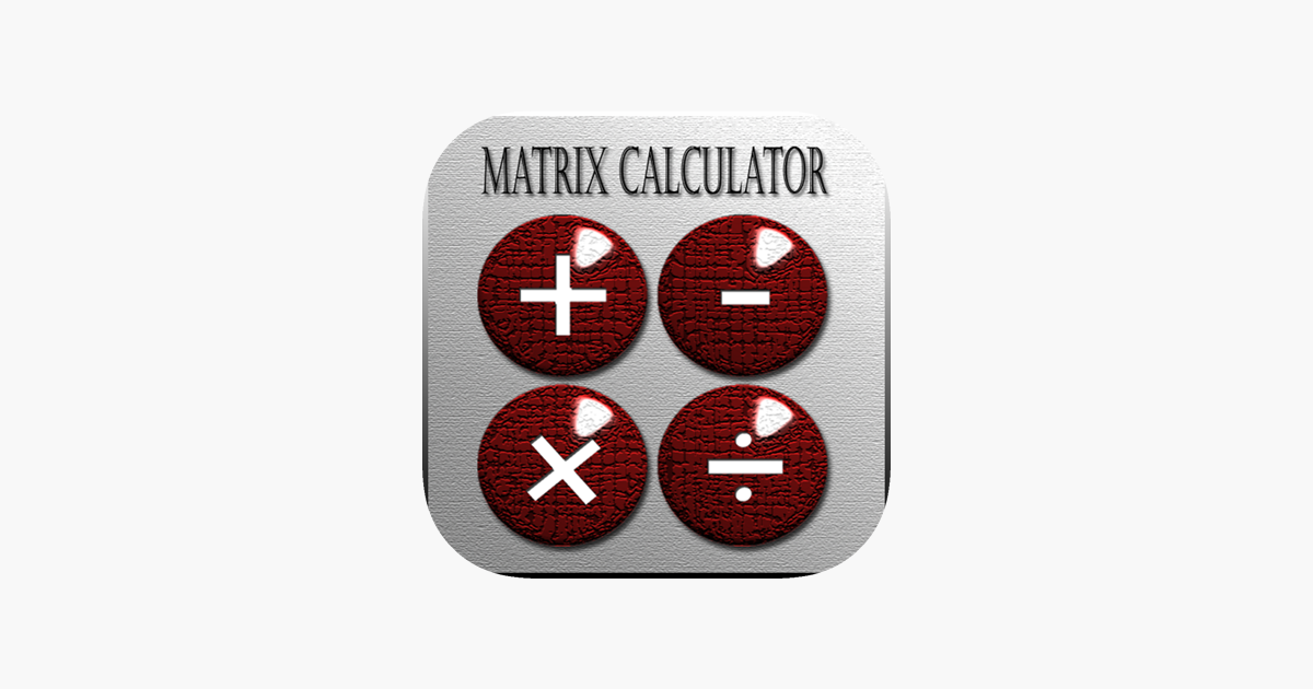 ‎Matrix Calculator Plus on