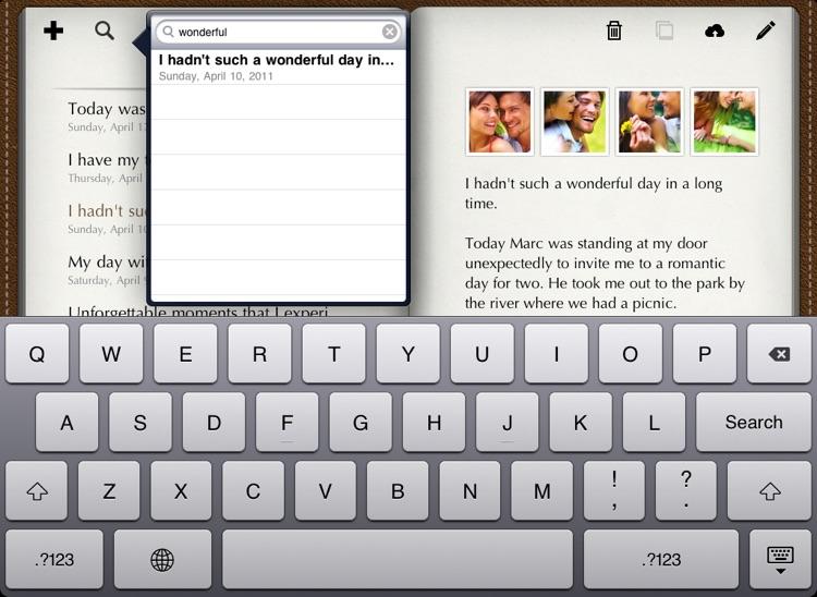 Diary for iPad screenshot-3