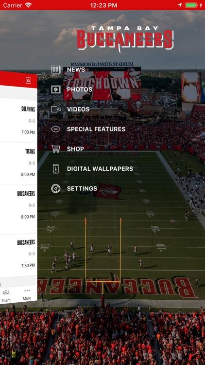 Tampa Bay Buccaneers Official screenshot-4
