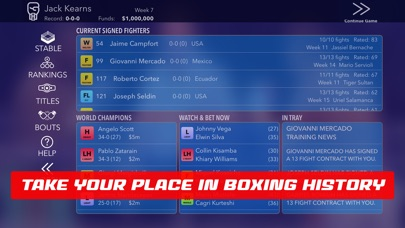 World Title Boxing Manager