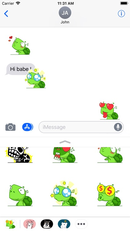 Turtle Animated Stickers
