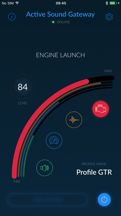Active Sound Gateway BLEScreenshot von 2