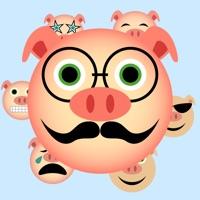 Animated Piggy Stickers!