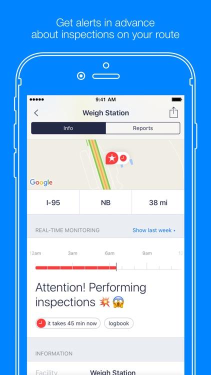 Jack Reports – truckers app