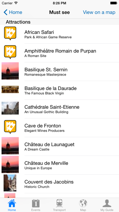 Toulouse Travel Guide Offline screenshot four
