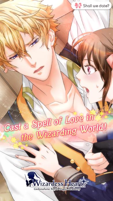 WizardessHeart /Shall we date? Screenshot
