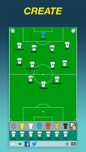 Team Lineup Basic on the App Store aee42ca4f2