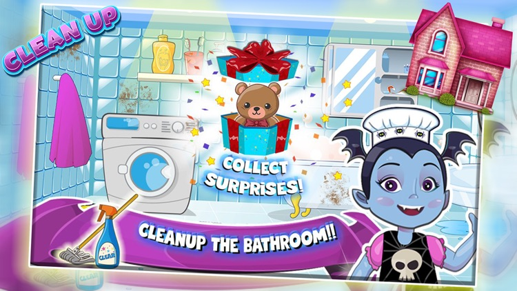 Vampirina Fairy House Clean Up