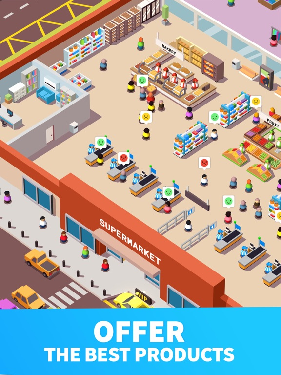Screenshot #5 for Idle Supermarket Tycoon - Shop