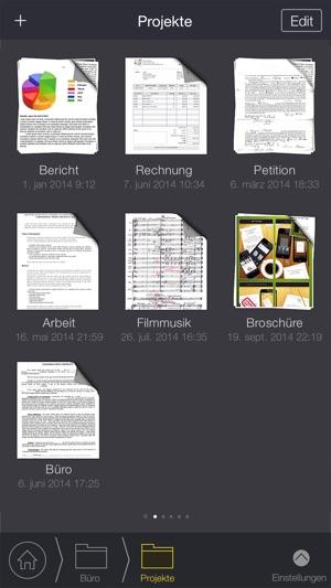 my scans beste scanner app im app store. Black Bedroom Furniture Sets. Home Design Ideas