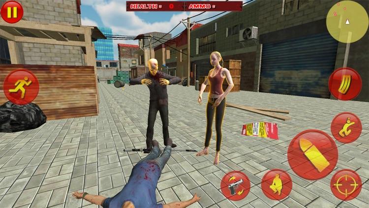 Zombie Survival War Hero screenshot-3