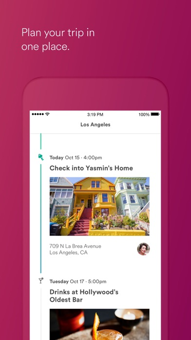 Screenshot 4 for Airbnb's iPhone app'