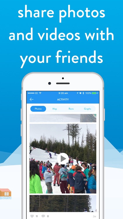 snoww: ski & snowboard tracker screenshot-3