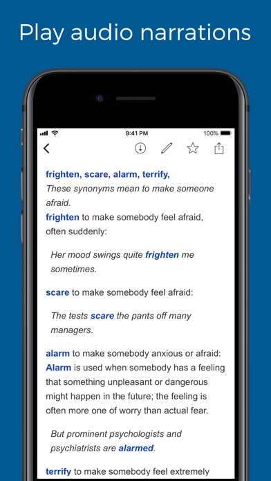 Screenshot for English Synonyms Explained in United States App Store