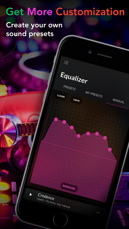 Equalizer + Pro Music Player screenshot-4
