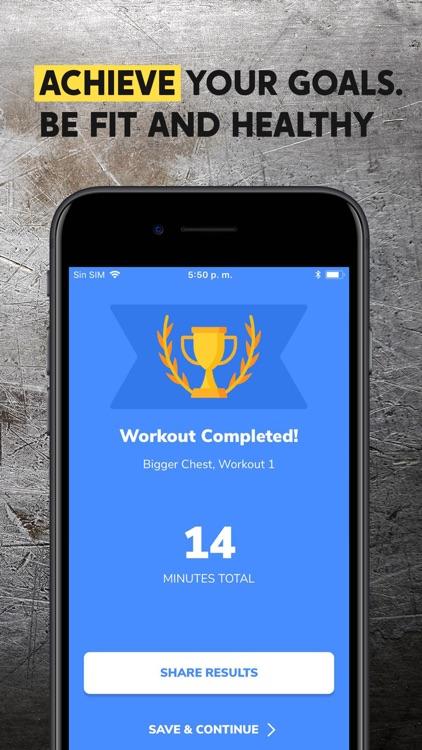 BetterMen: Workout Trainer screenshot-5