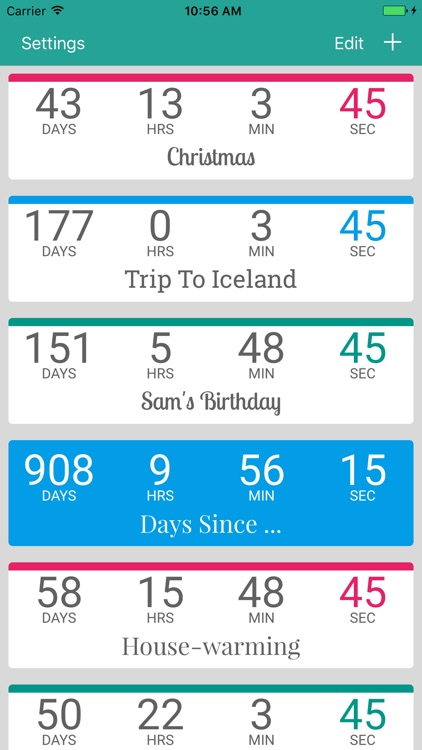 Countdown by timeanddate.com screenshot-4