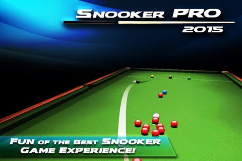 Snooker Pro 2015 - náhled