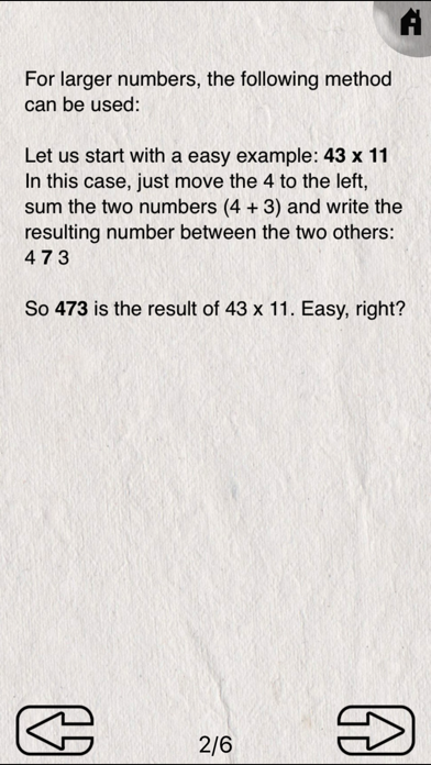 Mimir Mental Math screenshot three