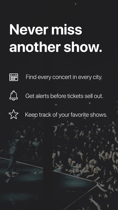 Songkick Concerts for Windows