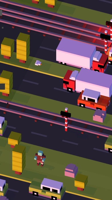 Screenshot for Crossy Road in Qatar App Store