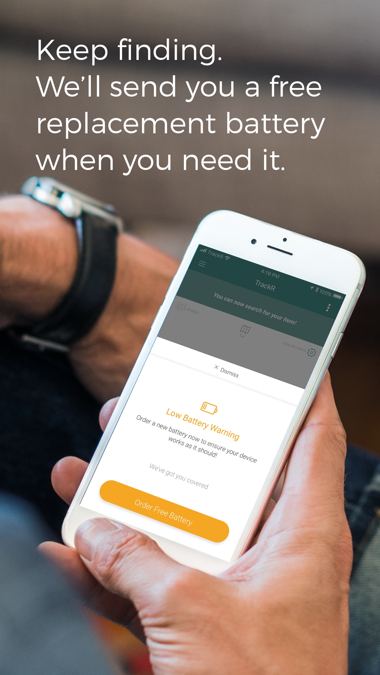TrackR - Lost Item Finder Screenshot