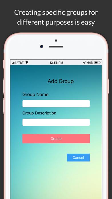 Share To Group Screenshot