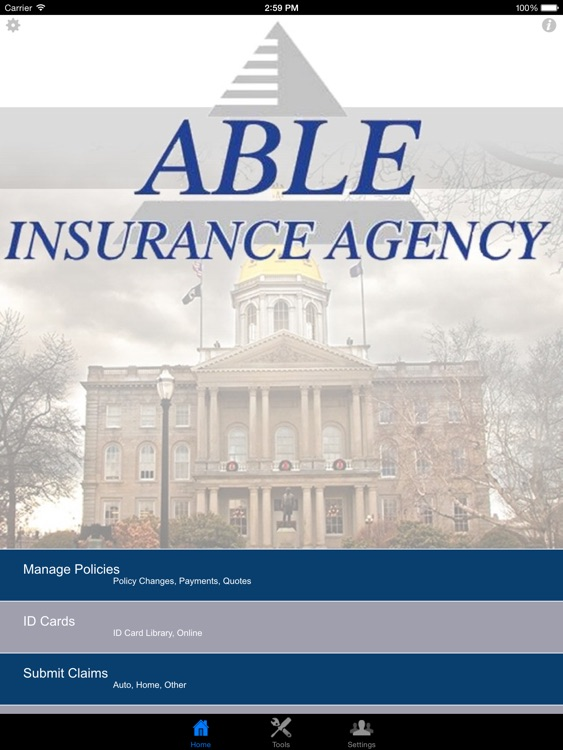 Able Insurance Agency HD by RedHead Mobile Apps