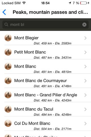 Alpes MontañasCaptura de pantalla de4