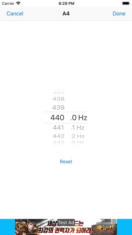 CarlTune - Chromatic Tuner screenshot-4