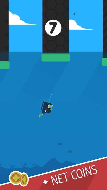 Ninja Dive screenshot-2