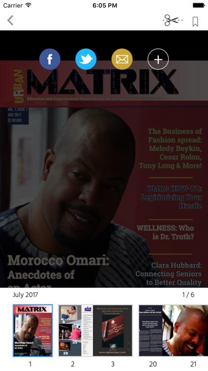 Urban Matrix Magazine screenshot-4