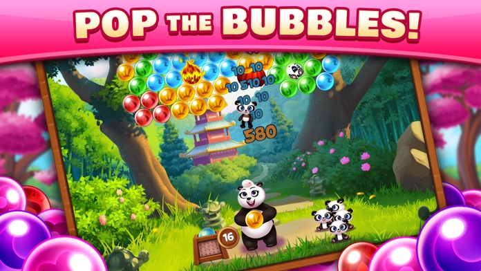 Panda Pop - Bubble Shooter Screenshot