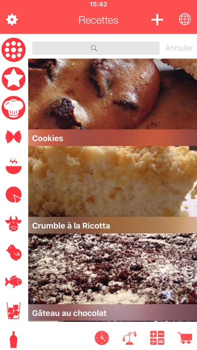 Screenshot for Toutes Mes Recettes in Lebanon App Store