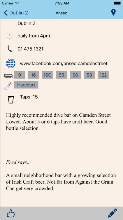 Beer Guide Dublin screenshot-3