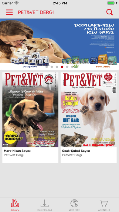 Pet&Vet Dergi screenshot one