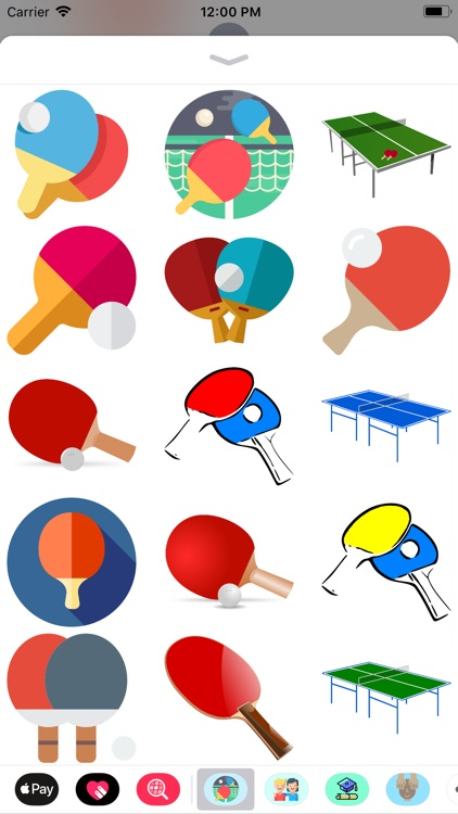 Ping Pong Sticker Pack Fun