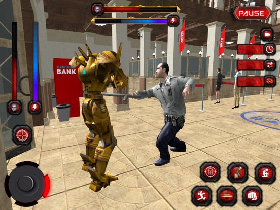 Bank Robbery:Robo Secret Agent-ipad-2