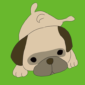 Cute Pug Stickers ! - Stickers app