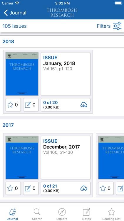Thrombosis Research screenshot-3