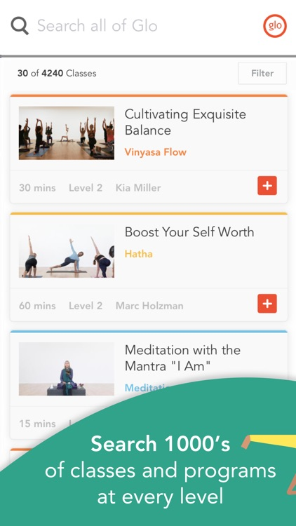 YogaGlo - Yoga and Meditation screenshot-0