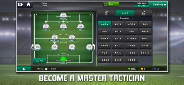 Kết quả hình ảnh cho Soccer Manager 2019