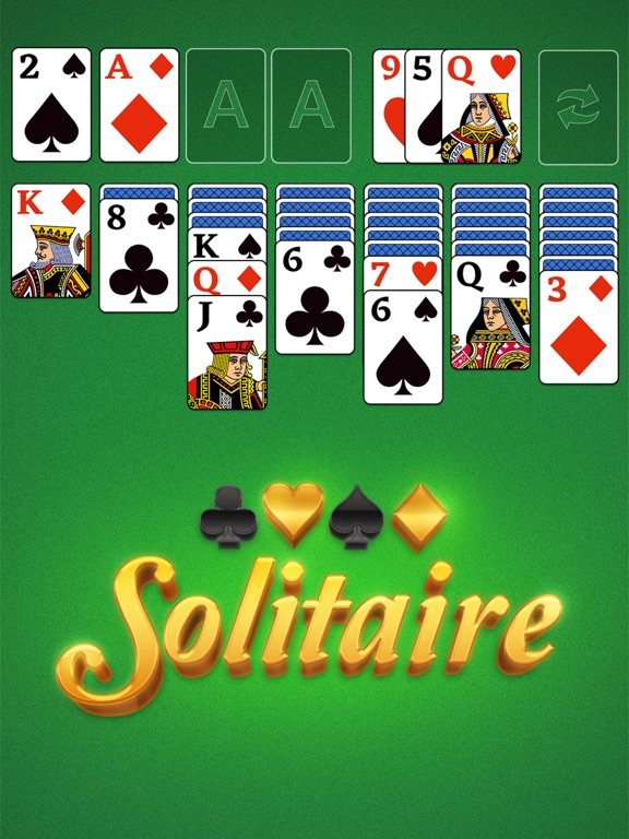 Image of Classic Solitaire Card Game! for iPad