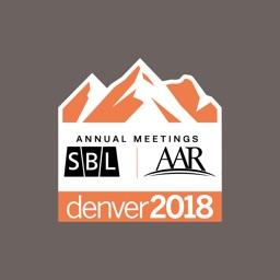 SBL & AAR 2018 Annual Meetings