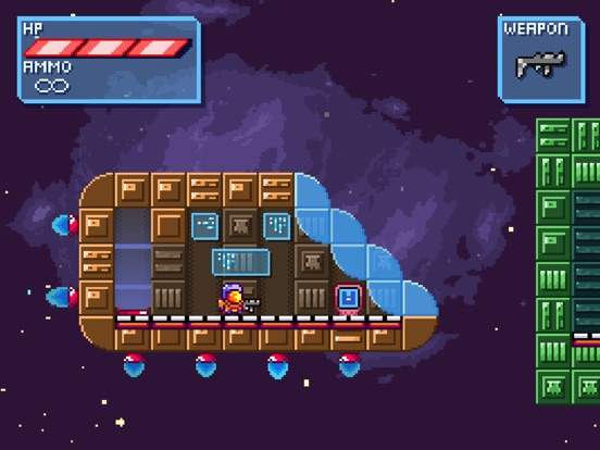 Deep Space | Space-Platformer screenshot 6