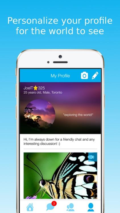 SwiftChat: Radio Chat Rooms screenshot-4