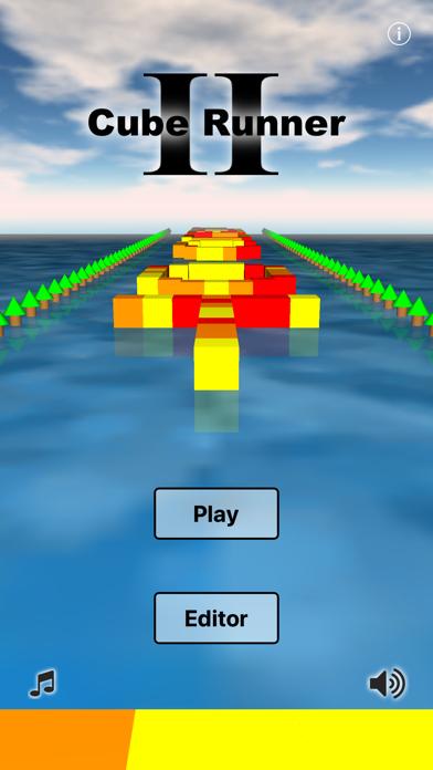 Cube Runner II screenshot two
