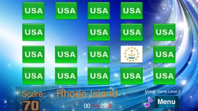 Master USA State flags screenshot three
